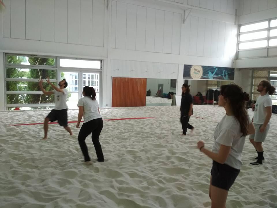 beach volley πρόσκοποι